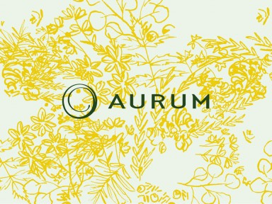 aurum logo by jolly edition