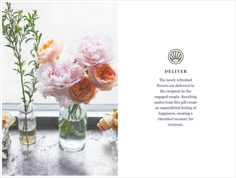repeat roses identity and brand by jolly edition