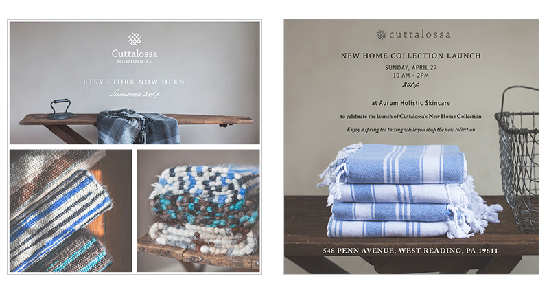 Cuttalossa brand and identity by Jolly Edition