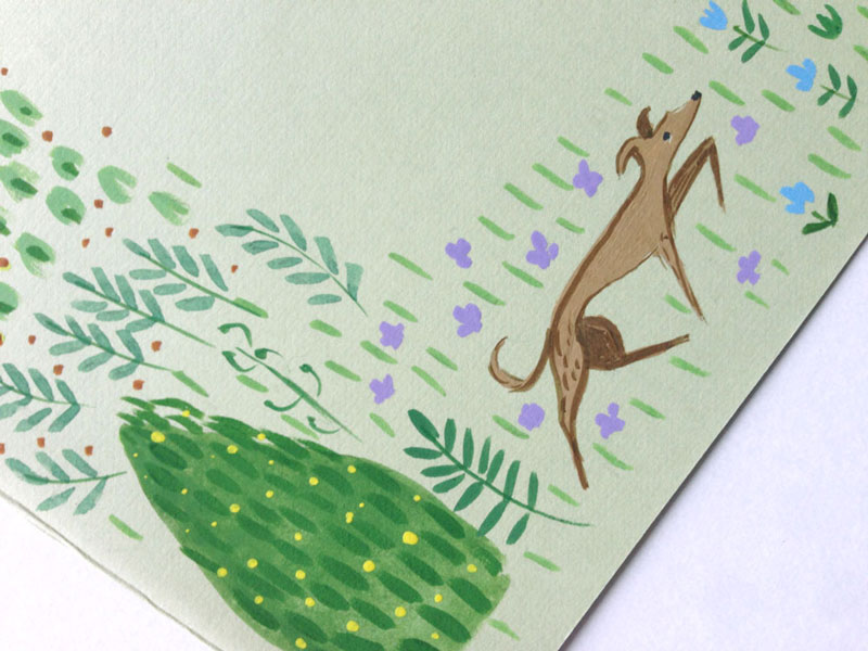 jolly edition dog illustration