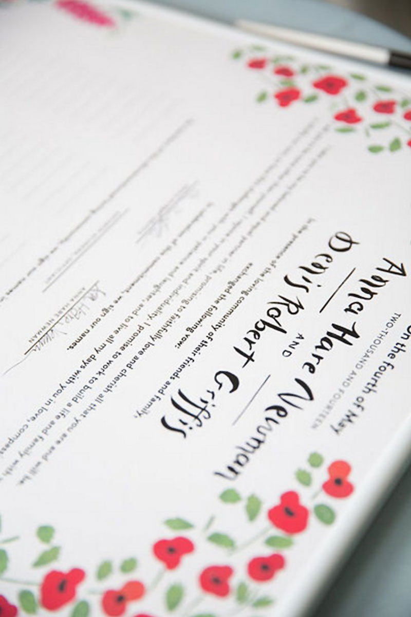 jolly edition wedding stationery wedding contract