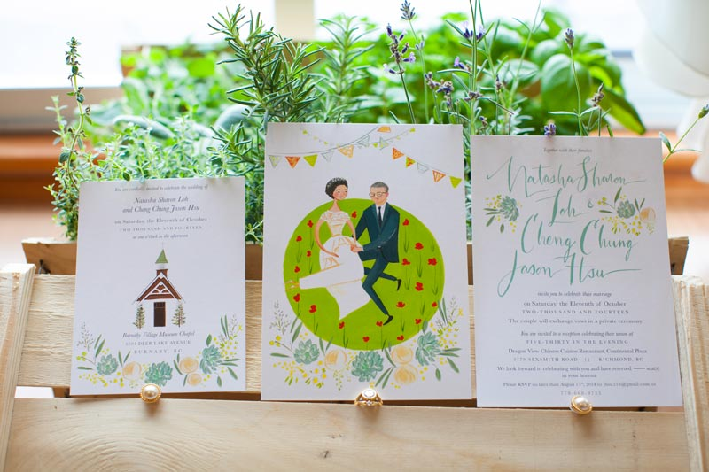jolly edition natasha wedding stationery