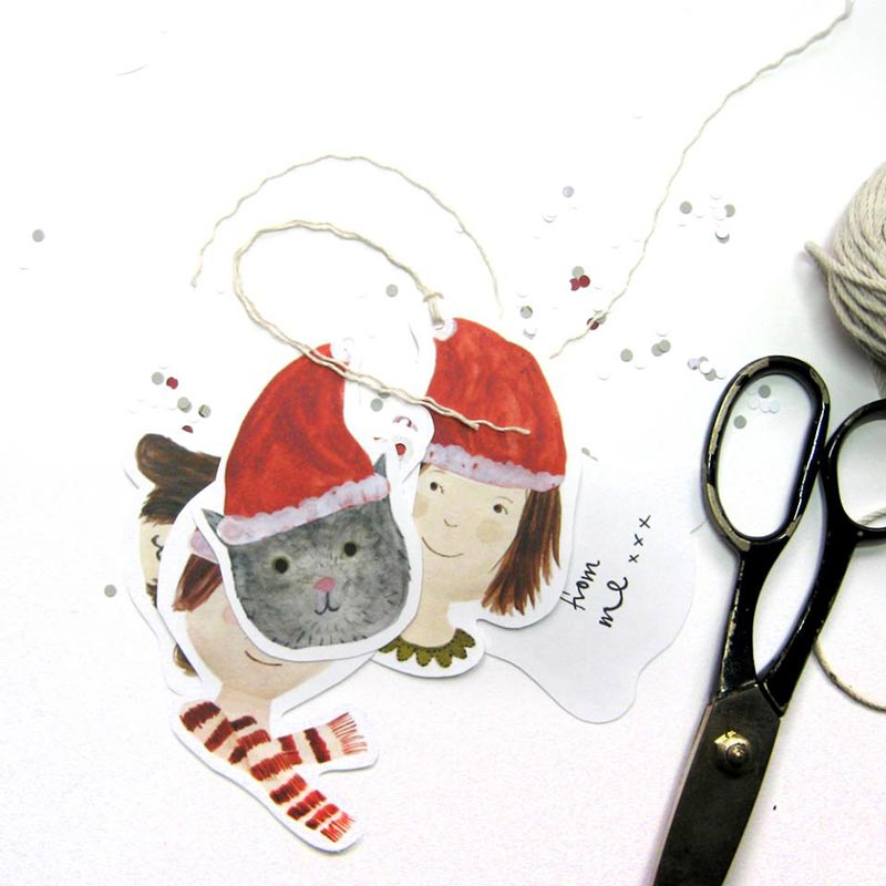 katie wilson gift tags