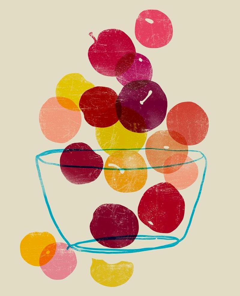 Plums by Ana Petrak
