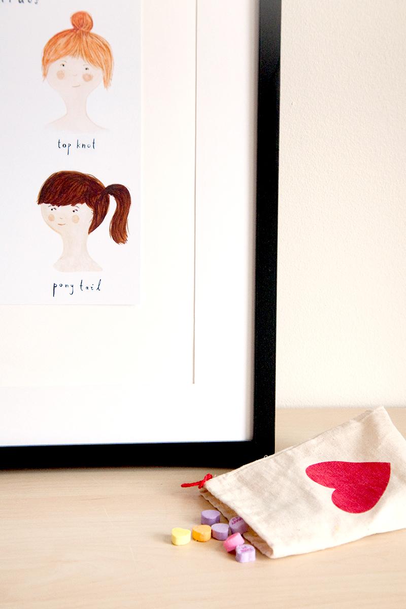hairdo print