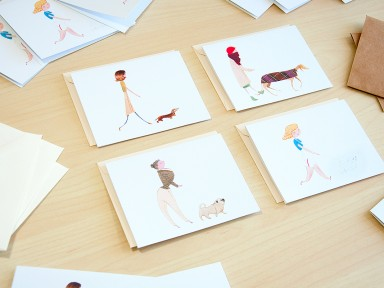 Dog Walker cards