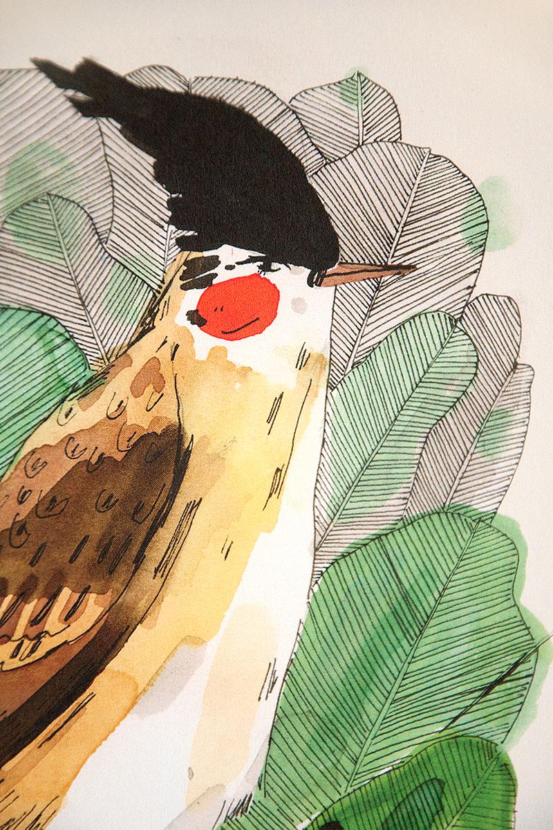 wild-bird print
