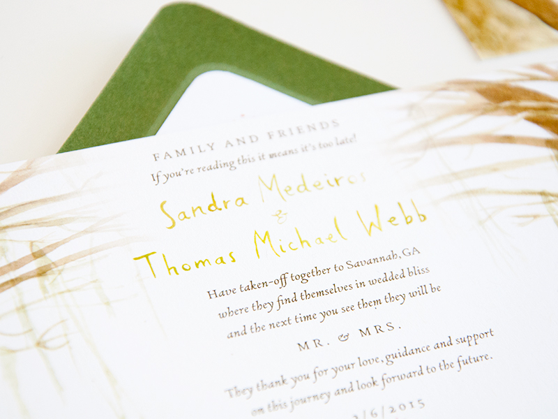 Sandy-Tom-invite-cu | Jolly Edition | Illustration and Stationery ...