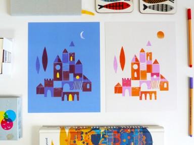 Ana Petrak Day and Night Castles
