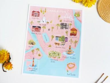 Charleston map jolly edition