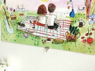 jolly edition wedding stationery illustrated by  Elizabeth Graeber