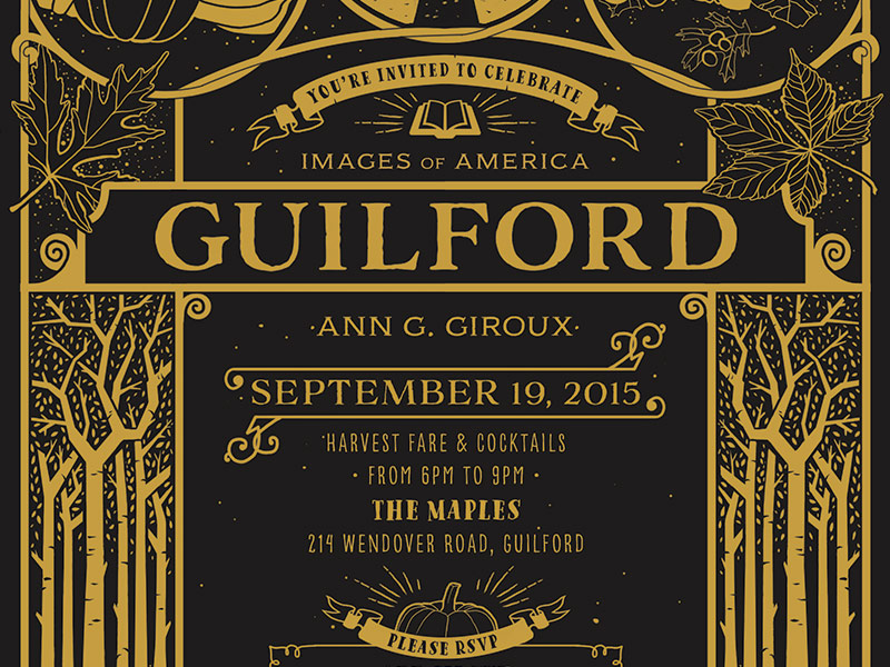 Guilford, Baltimore custom stationery by Jolly Edition, illustration by Stephanie Shafer