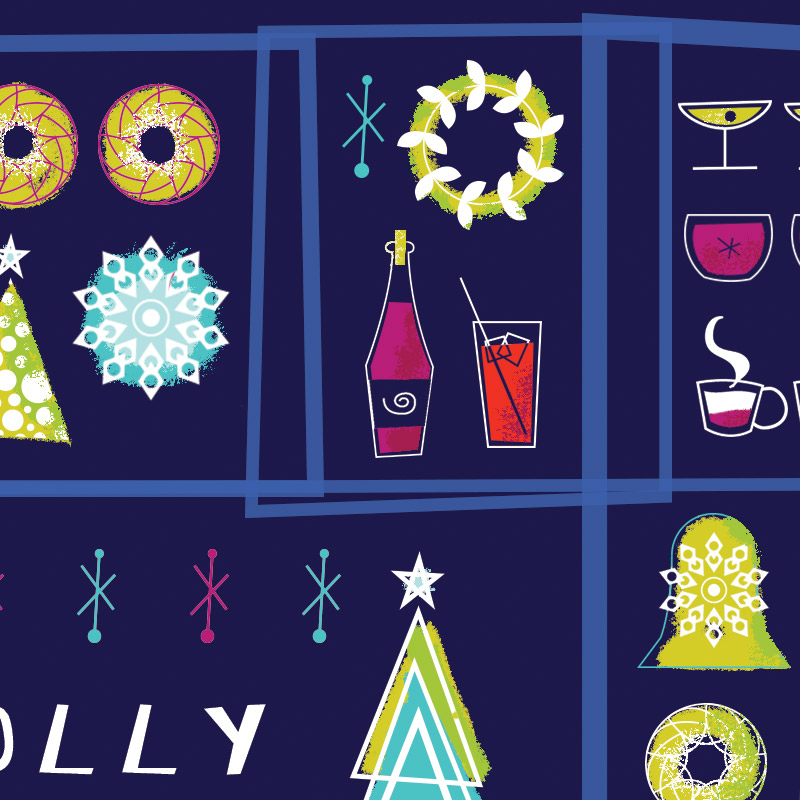 2015 Holiday Card design by Jolly Edition