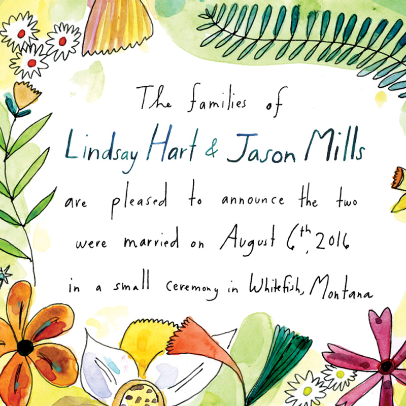 Jolly Edition April Blog Posts - harold maude inspired invitation