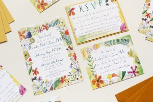 harold maude inspired invitation illustrated by ELizabeth Graeber for @Jolly Edition