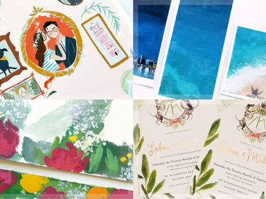 Jolly Edition August 2016 custom wedding stationery Illustration