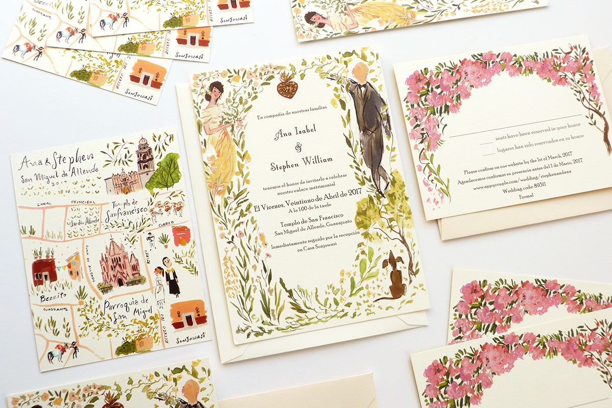 Ana and Steve | Jolly Edition | Illustration and Stationery Made in ...