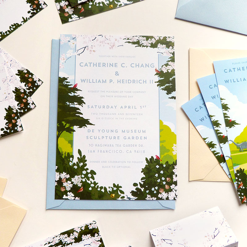 Jolly Edition Blog Post March 17 - San Francisco wedding stationery