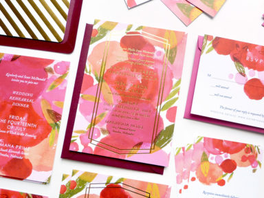 jolly edition kathryn and trent wedding stationery
