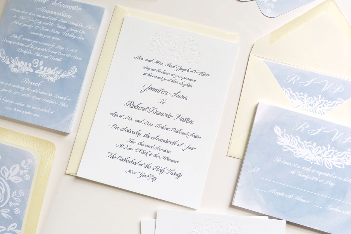 jolly edition jennifer rob wedding stationery