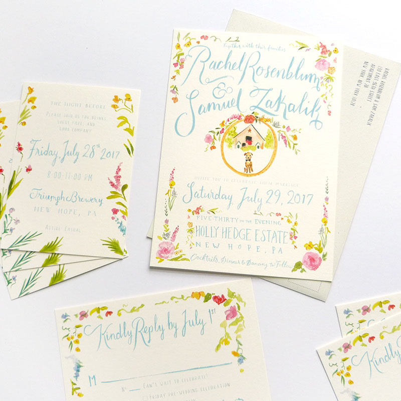 Jolly Edition Blog Post May 2017 custom wedding invitation