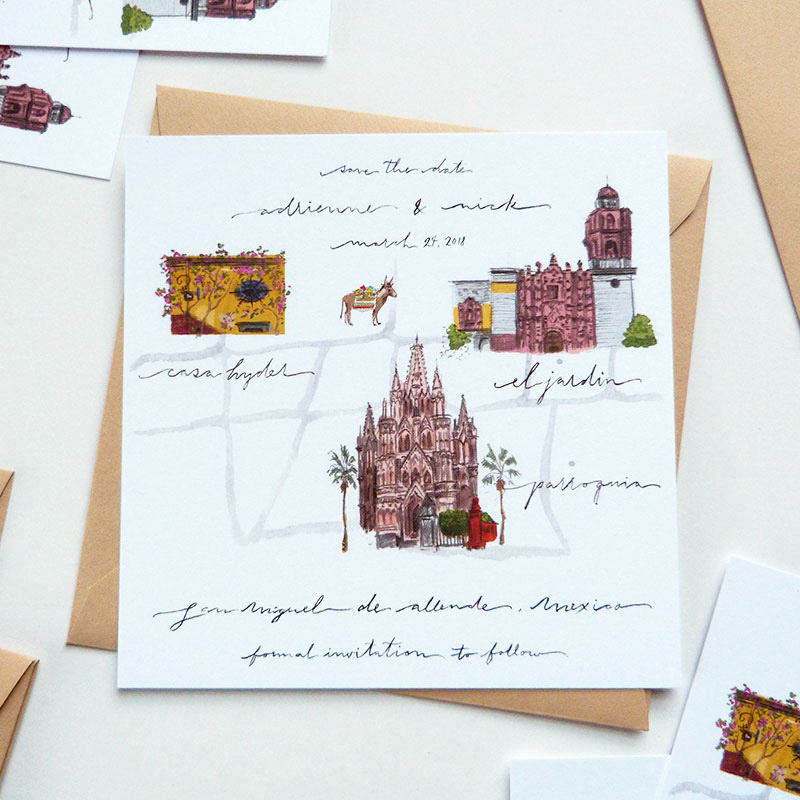Jolly Edition Blog Post August 2017 San Miguel wedding map