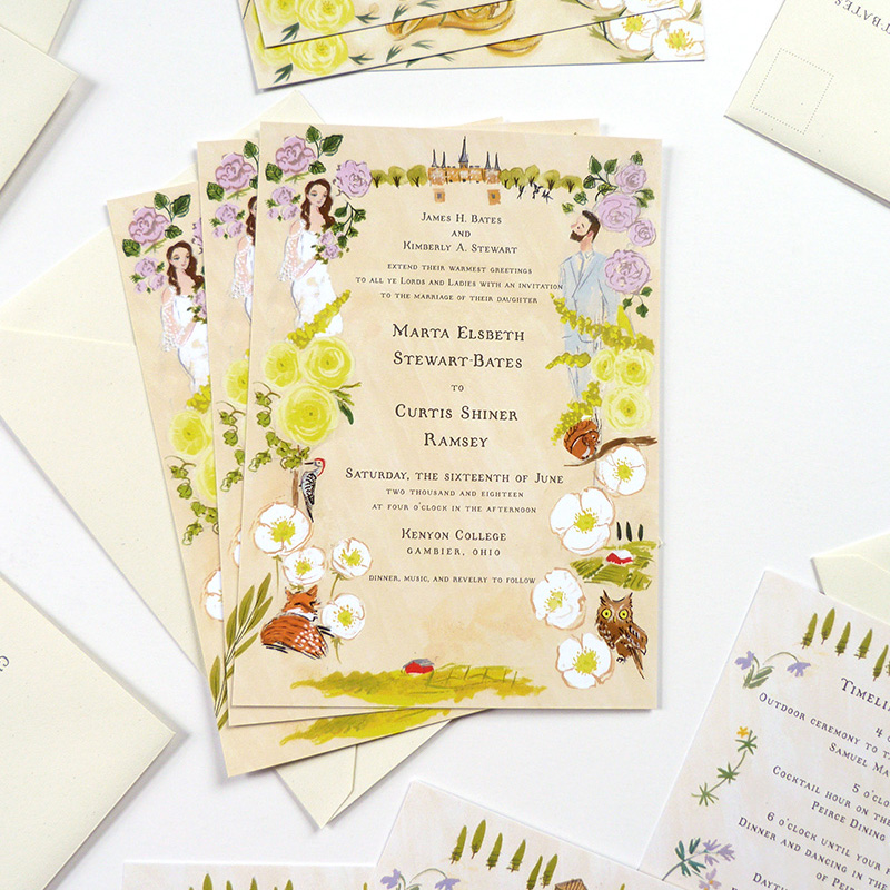 country-wedding-stationery