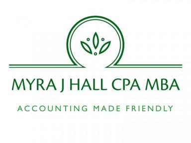 Myra J Hall CPA MBA Logo