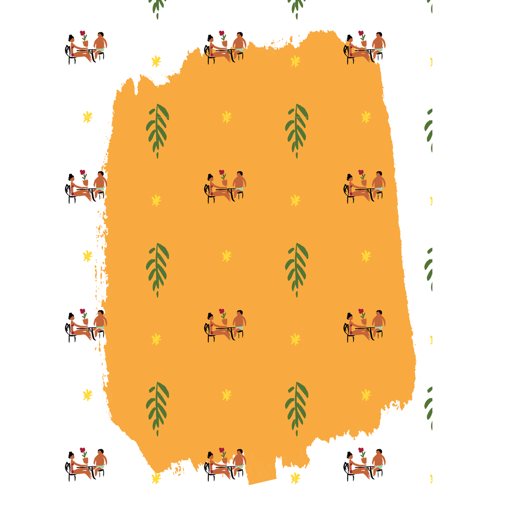 falls-flowers-orange-pattern-laura-shema-jolly edition