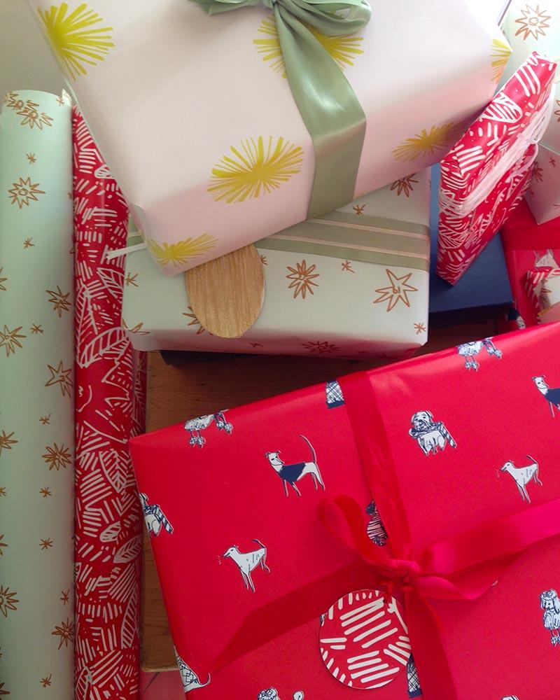 wrapping paper Elizabeth Graeber