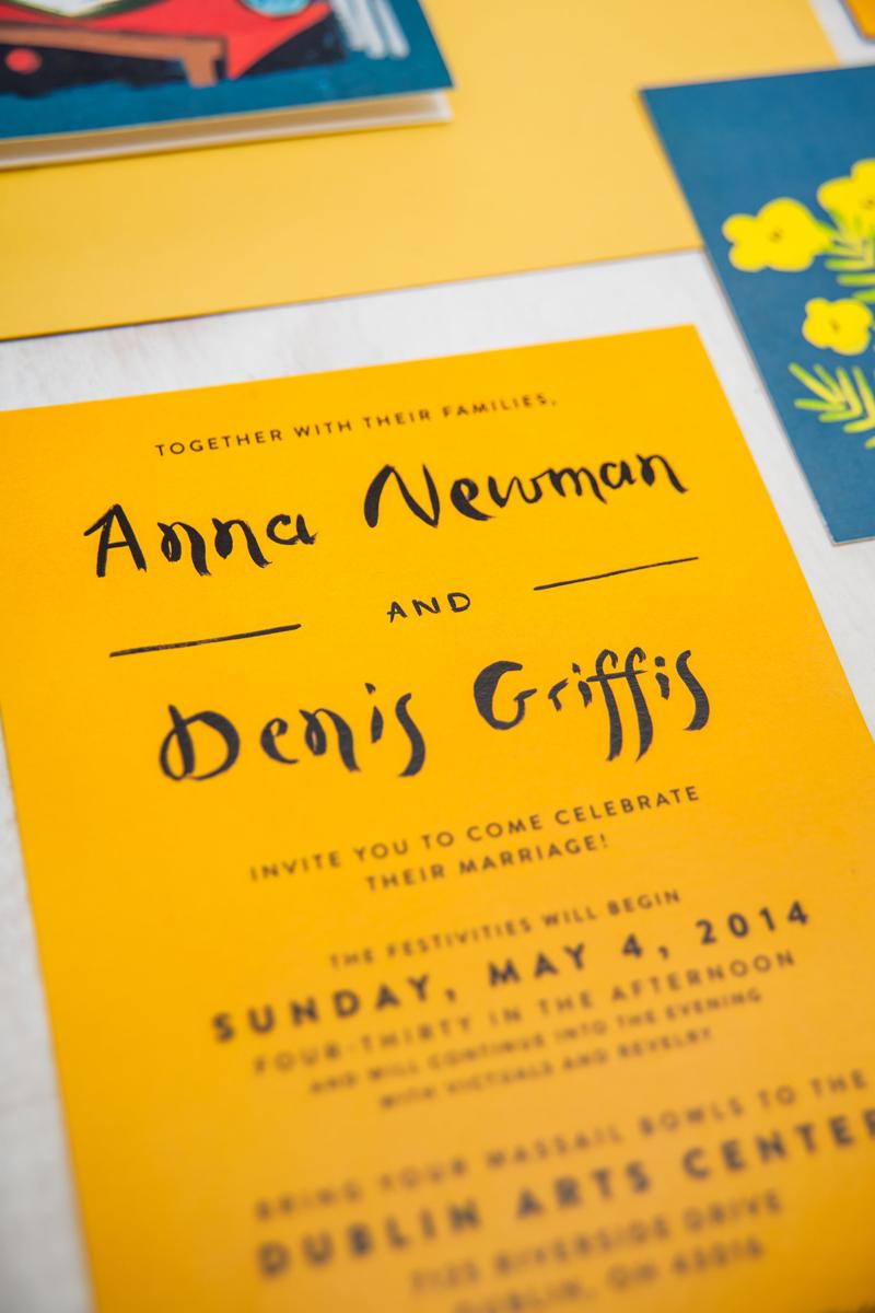 jolly edition anna and denis invitation