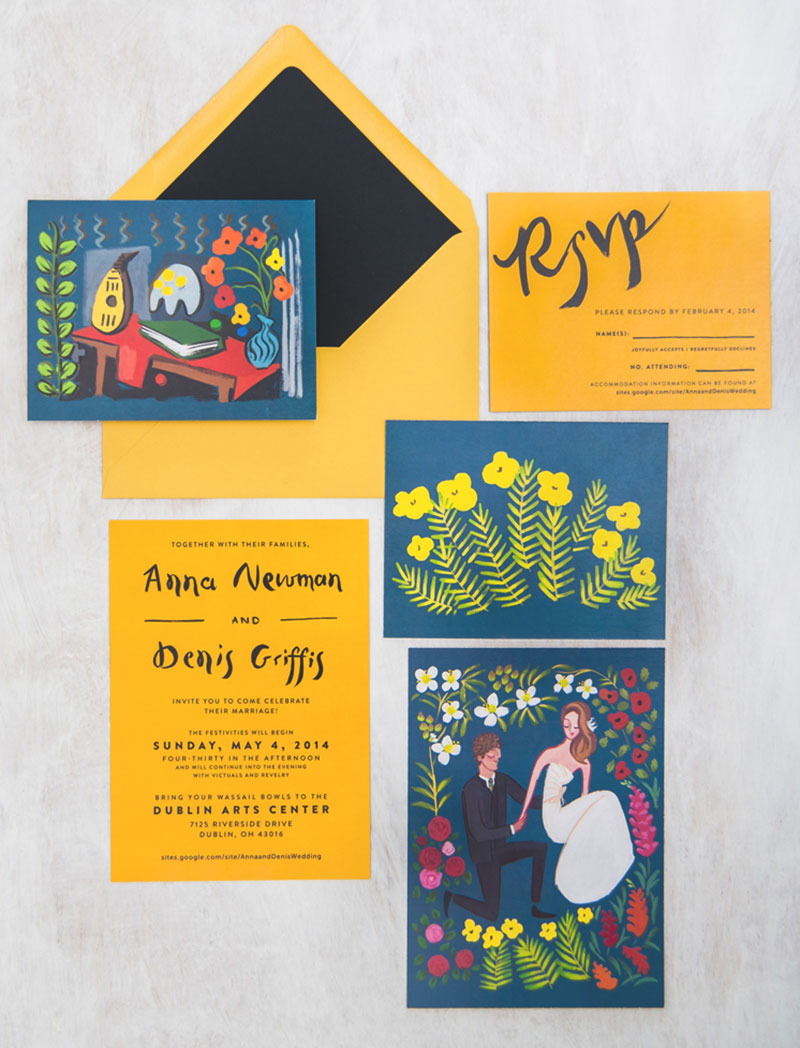 jolly edition wedding stationery anna and denis