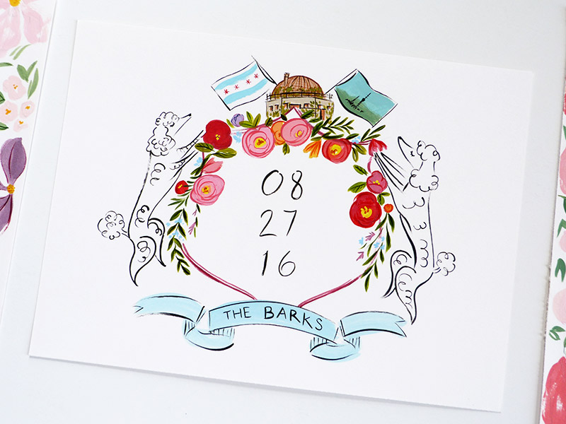 malibu wedding, saddle rock map illustration by Laura Shema for Jolly Edition