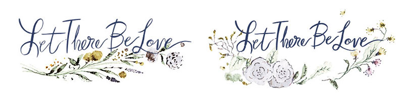 Blog Post November 2016 Let There Be Love wedding planner logo by Laura Shema