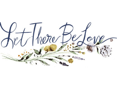 Let There Be Love wedding planner logo