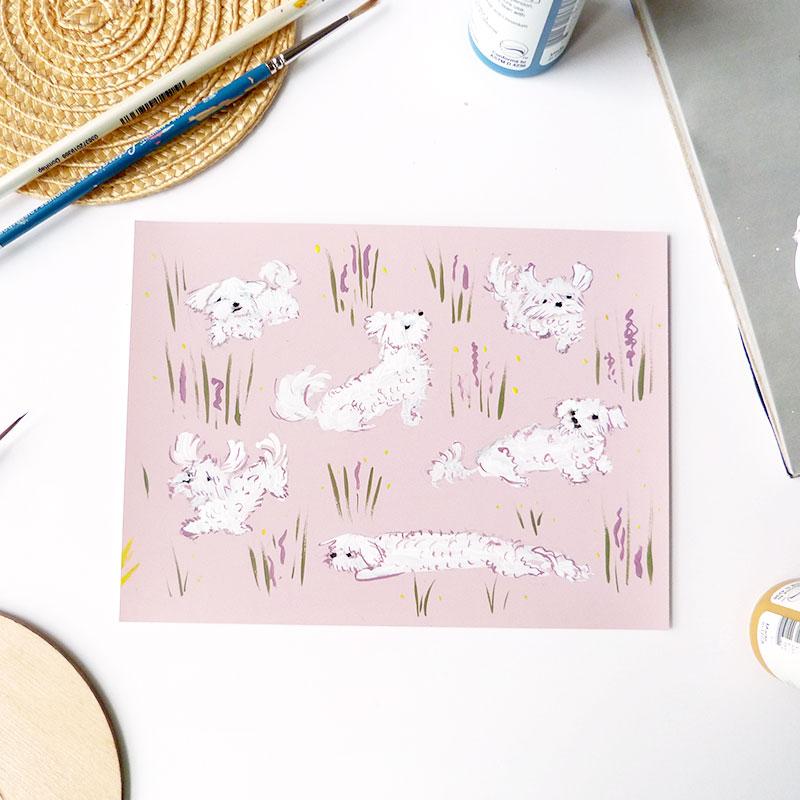 Blog Post January 2017 white-dog-illustration