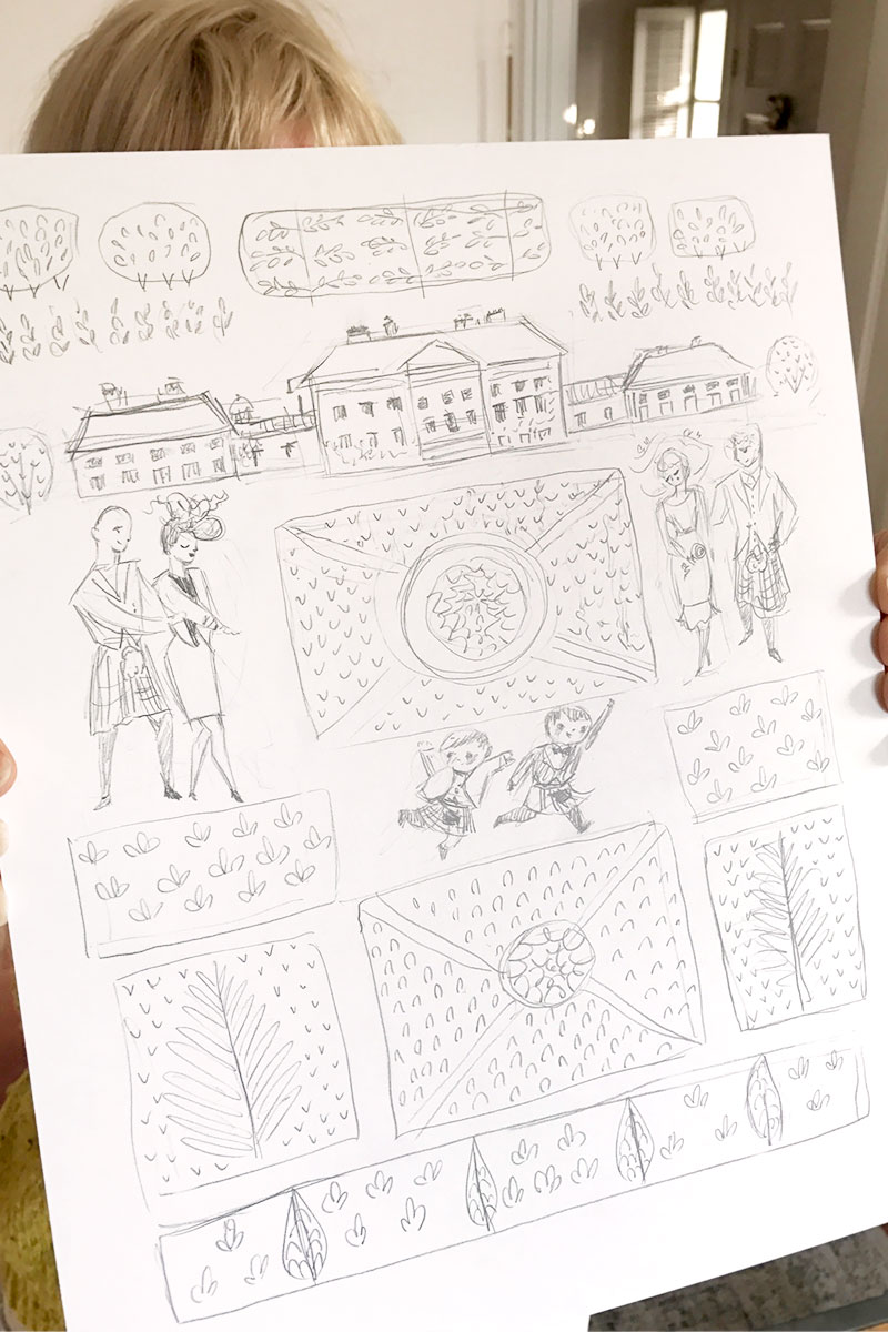 Blog Post January 2017 nicola-drawing-family-portrait