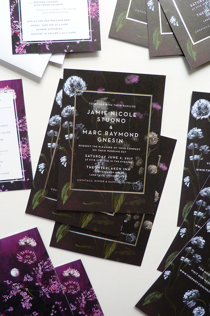 jolly edition jamie marc wedding invitation