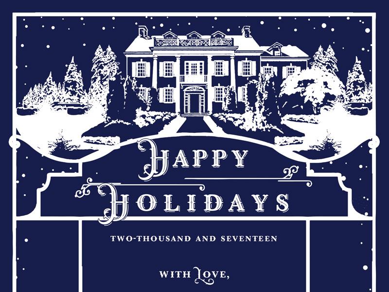 Jolly Edition Blog Post December 2017 Happy Holidays card