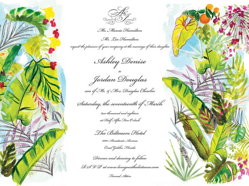 Jolly Edition Blog Post November 2017 tropical panel script invitation