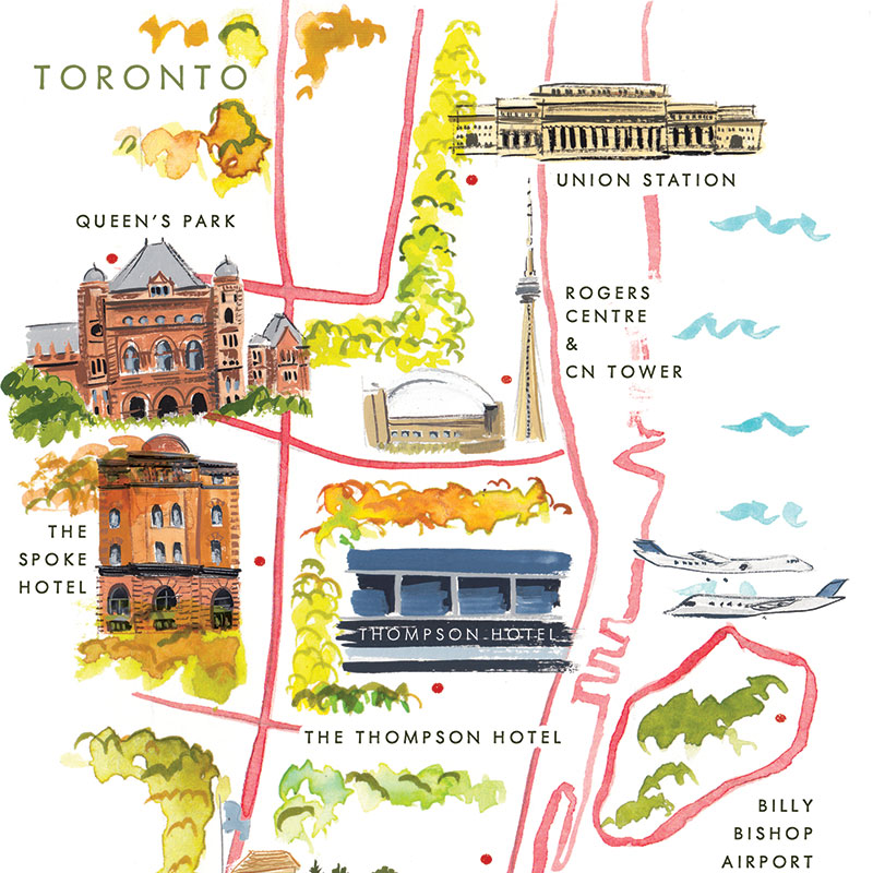Jolly Edition Blog Post October 2017 Toronto Map design