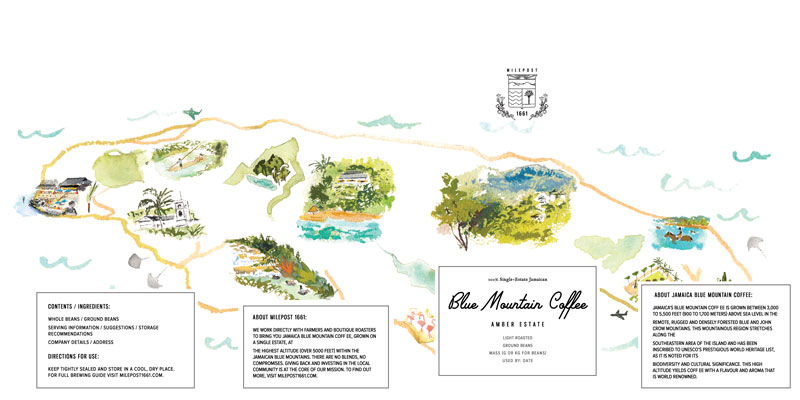 Jolly Edition Blog Post October 2017 branding project for Jamaica's Blue Mountain Coffee