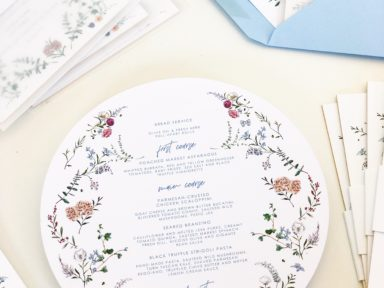 high-end custom wedding stationery Jolly Edition