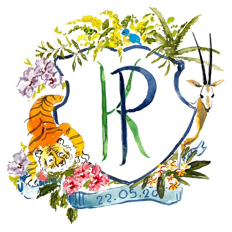 tiger-oryx-wedding-crest
