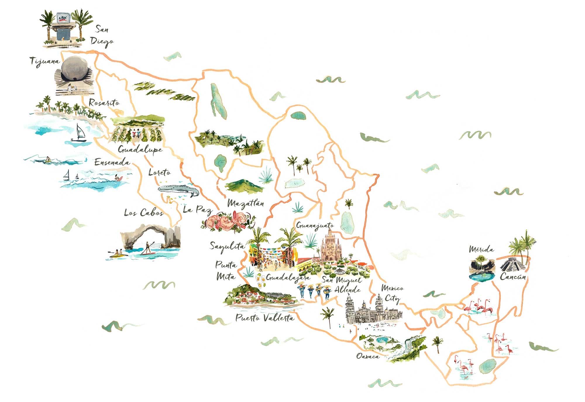 jolly edition mexico map