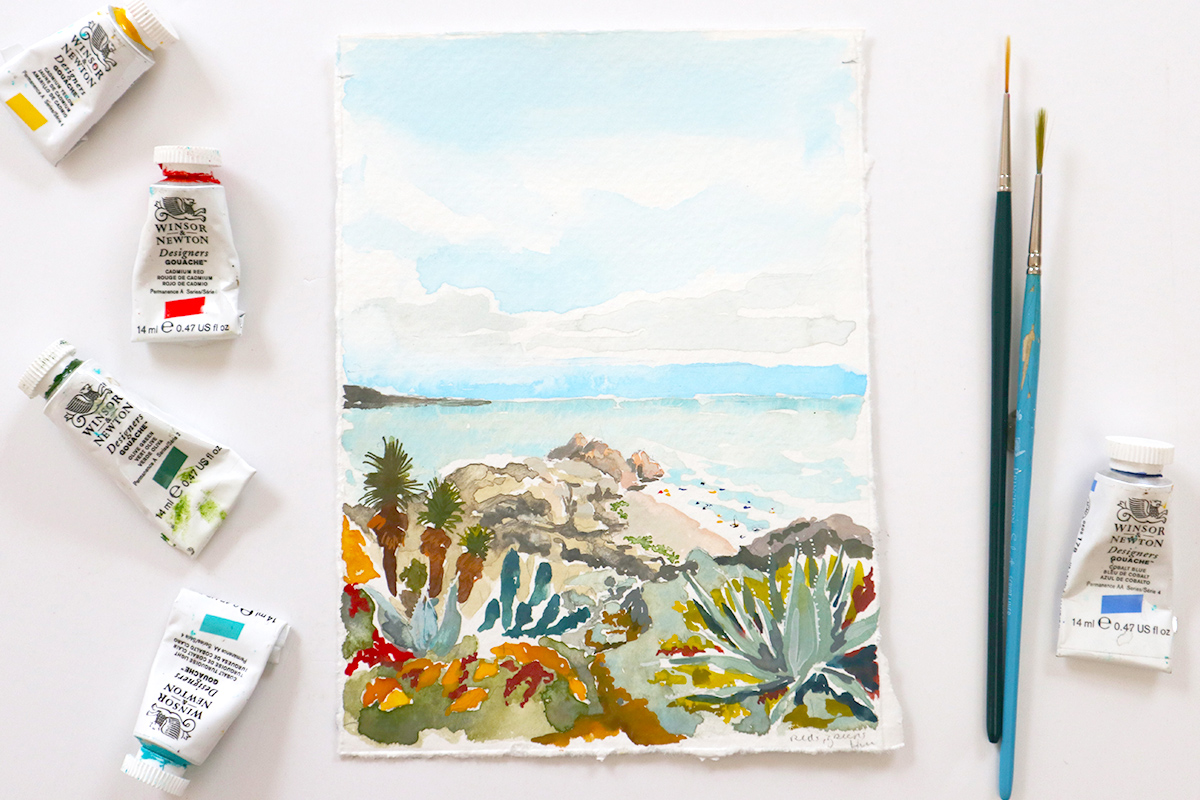 Cabo painting by Jolly Edition