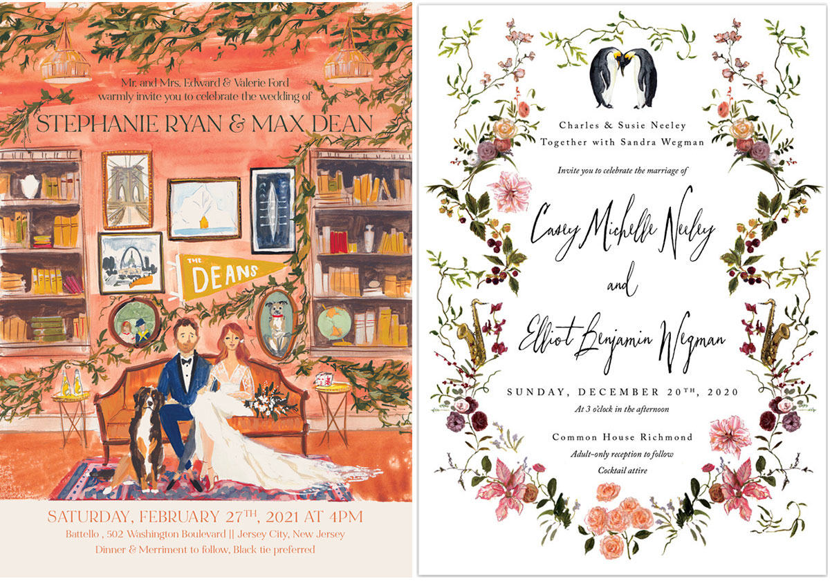 custom invitation designs jolly edition