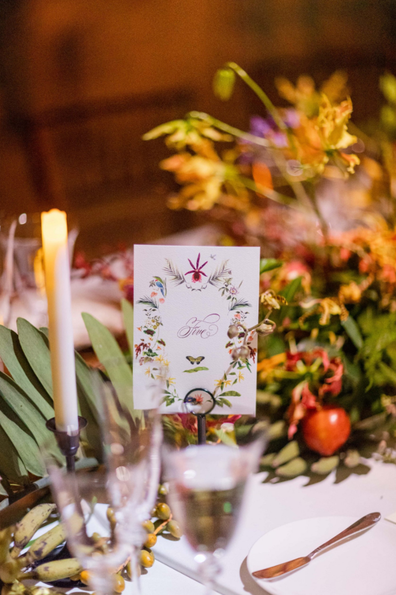 vizcaya wedding jenya flowers jolly edition place setting