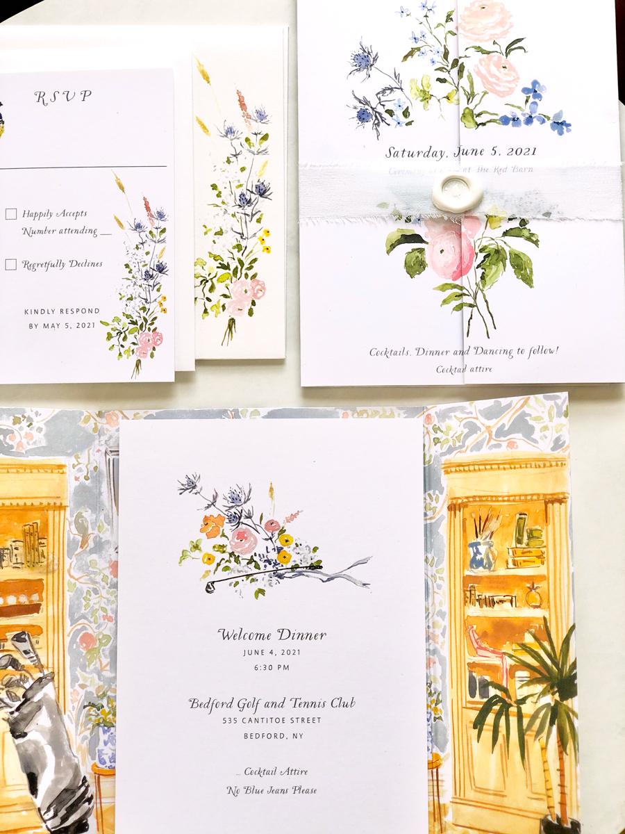 pandemic wedding invitations